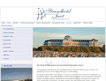Tablet Preview of kurhaus-juist.de
